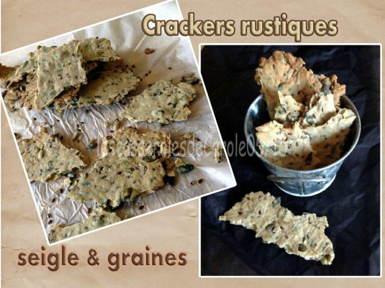 Crackers seigle et graines