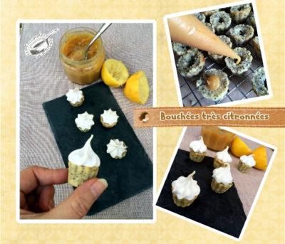 Bouchée citron pavot