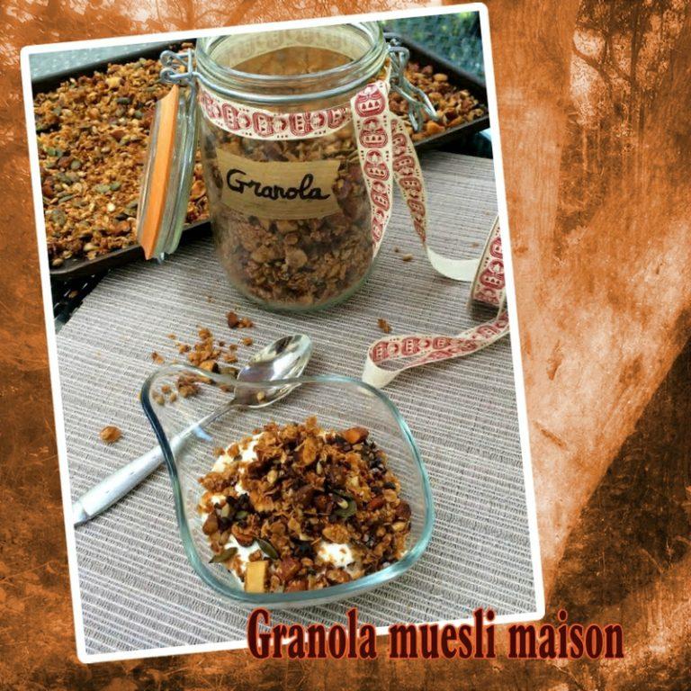 Granola muesli maison