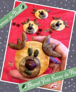 Biscuit petit Renne de Noël
