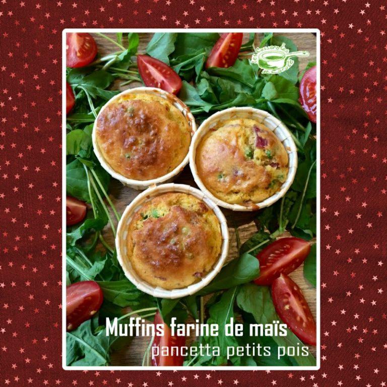 Muffins salés à la farine de maïs