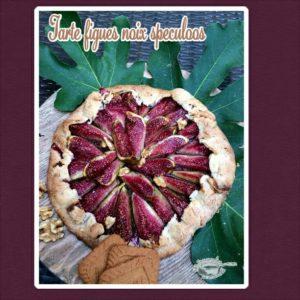 tarte rustique à la figue