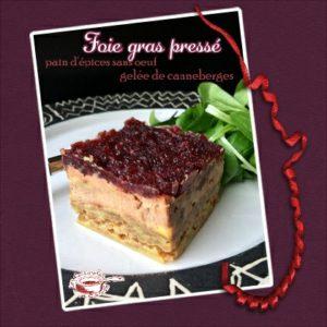 Foie gras pressé