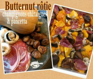 Butternut rôtie one pot