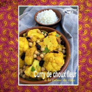 Curry de choux fleur