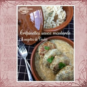 Crepinettes sauce moutarde