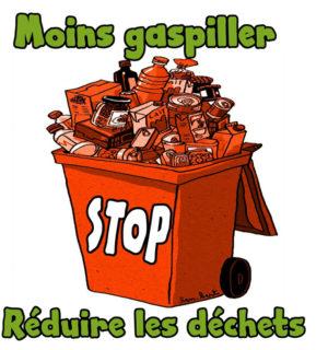 Moins gaspiller réduire les déchets