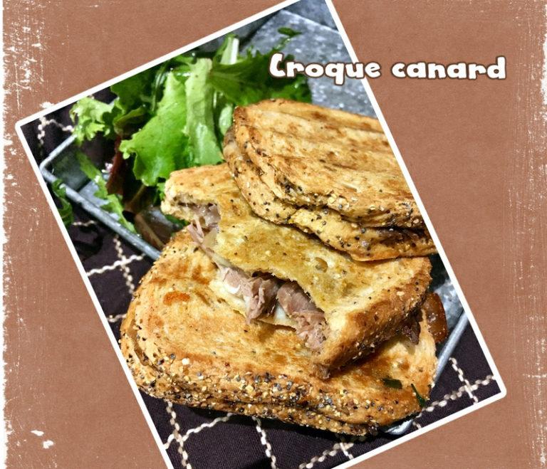 Croque canard