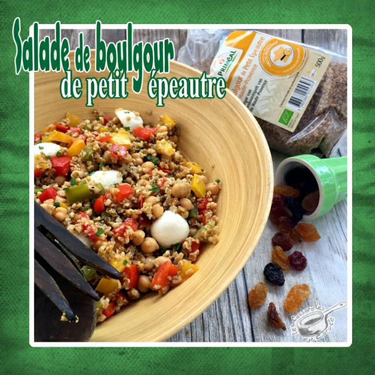 Salade boulgour de petti epeautre