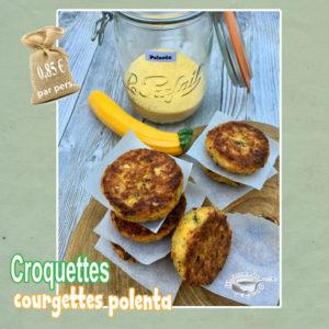 Croquettes courgettes polenta