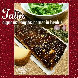 tatin oignons rouges brebis