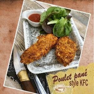 Poulet panée style KFC