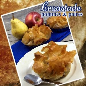 Croustade pomme poire
