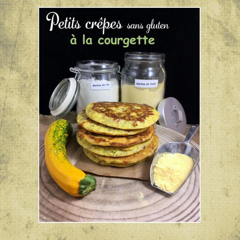 crêpes courgette sans gluten