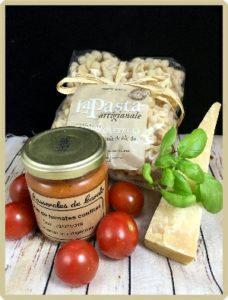 purée de tomates confites