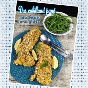 poisson pané sans gluten au four