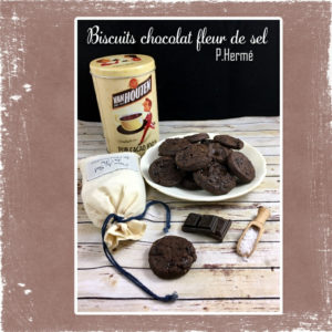 biscuits chocolat P Hermé