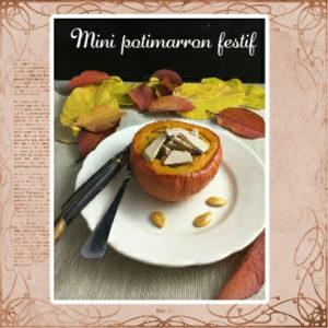 potimarron cèpes et foie gras