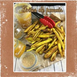 Frites de panais au four