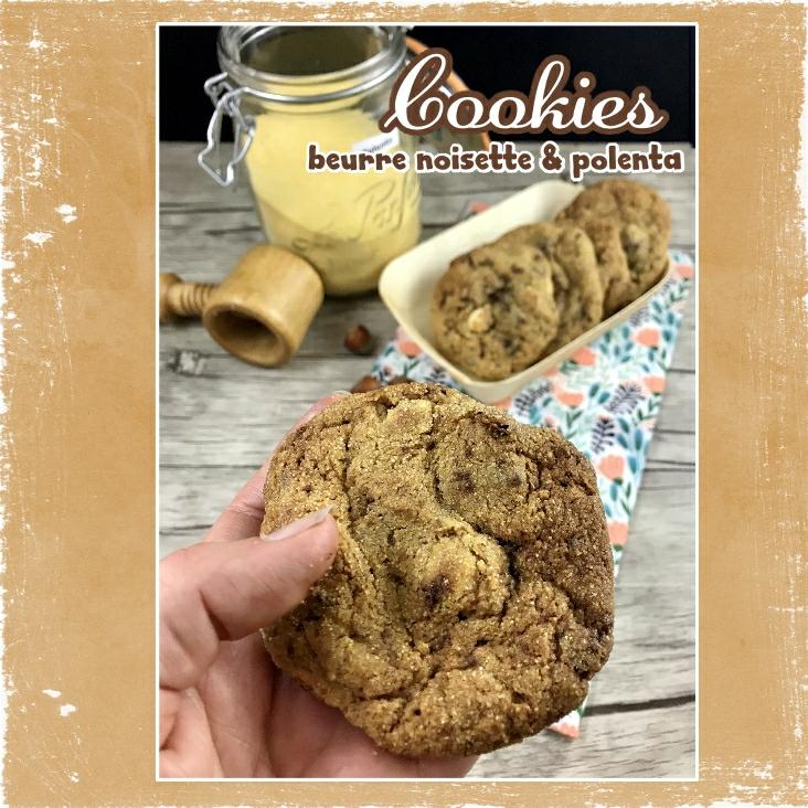 Cookies à la polenta