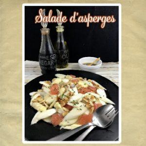 salade d'asperges blanches crues
