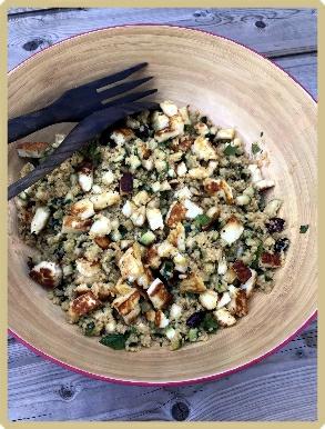 salade de couscous de maïs