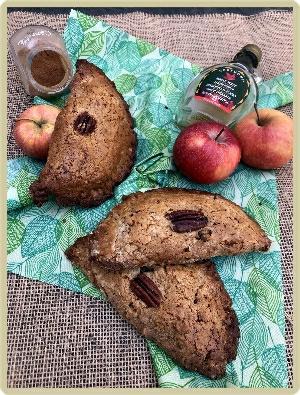 chausson rustique à la pomme