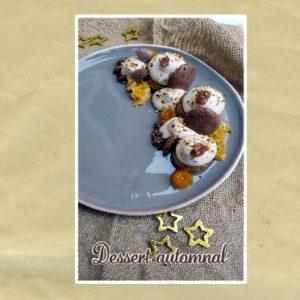 dessert automnal