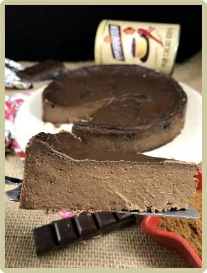flan chocolat épices