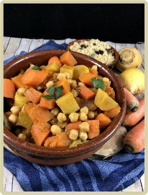 tajin de légumes d'hiver
