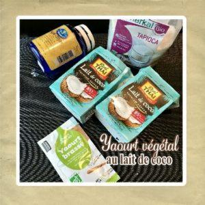 yaourt vegetal coco ingredients