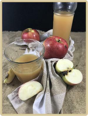 jus de pomme pasteurisé